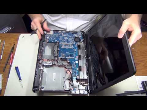 How to HP 2000 Laptop Fan Cleaning & Disassembly   Step by Step