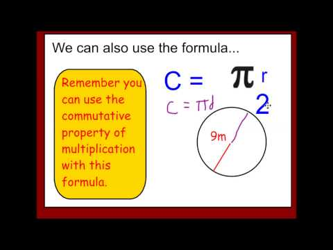 Finding Circumference of a Circle