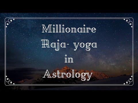 Millionaire Raja- yoga in astrology - 1