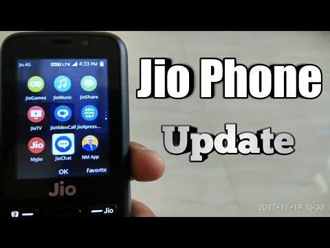 Jio phone software update with 2 new apps on Jio strore