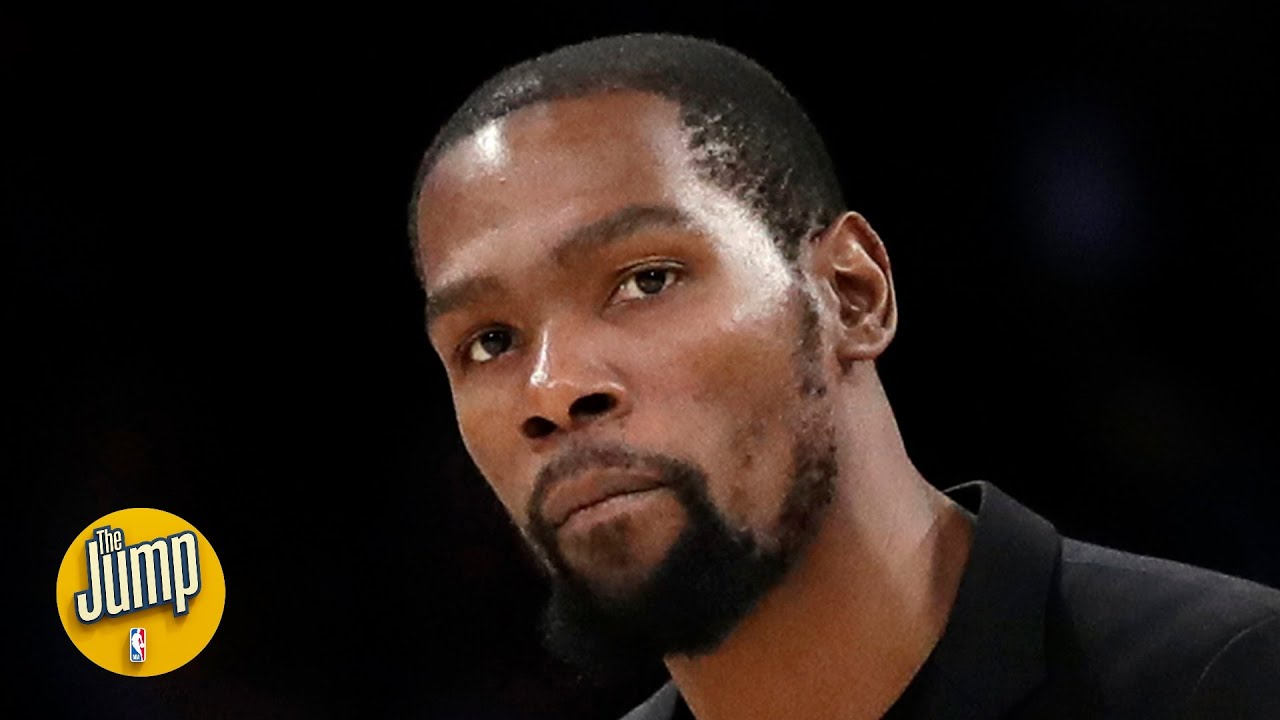 Reacting to Kevin Durant saying he expects to play the 5 for the Nets at times this year   The Jump