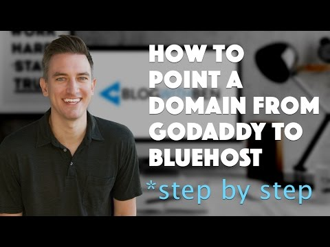 How to Point a Domain From GoDaddy to Bluehost