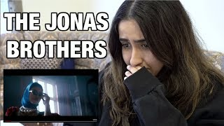 REACTING TO THE NEW JONAS BROTHERS MUSIC VIDEO!