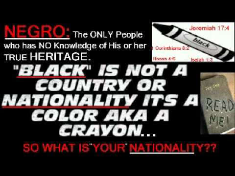 What is Your Nationality?