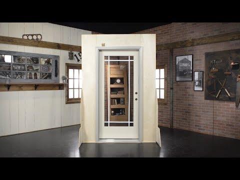 Aluminum Clad Installation – Single Door Unit | REEB