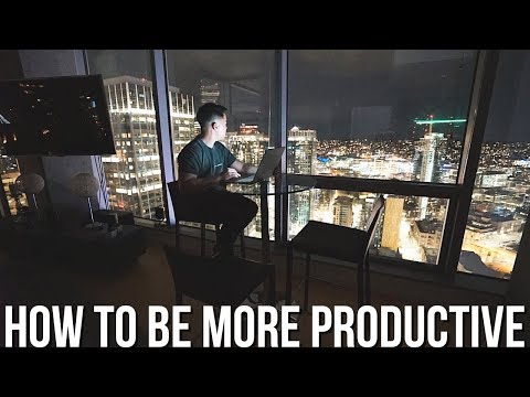 How To Be More PRODUCTIVE and Get SH*T Done!