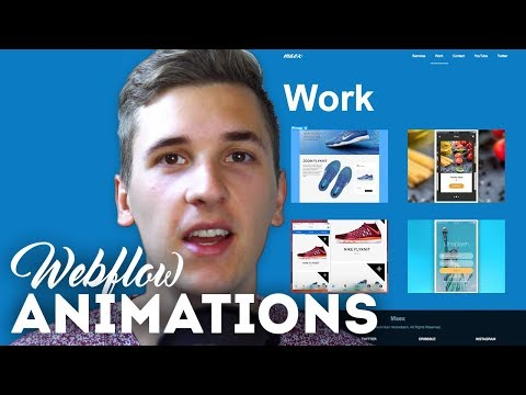 Animations & Interactions • Webflow Tutorial