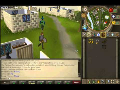 Runescape Tutorial - How to Change Your Hairstyle
