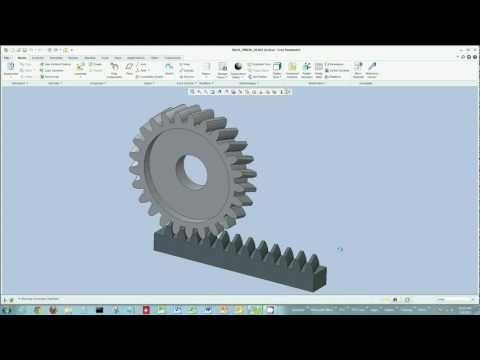 Creo Parametric - Mechanism Dynamic Gears