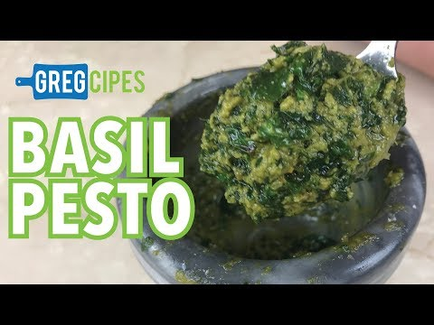 Traditional-style  Basil Pesto – Gregcipes
