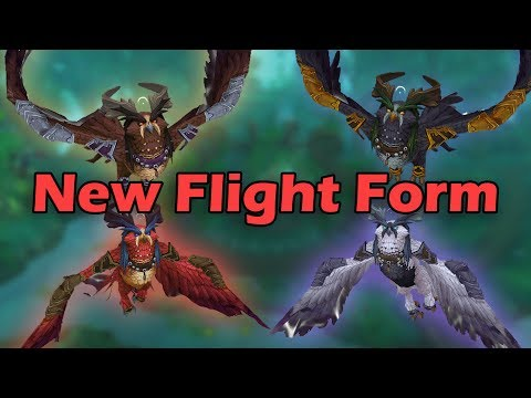 How to Get the New Druid Flight Form (New Class Mount) - Lunarwing Owl