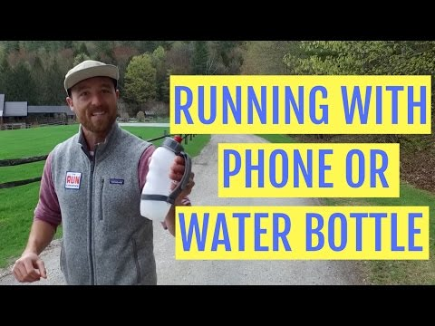 Running Technique: How Your Phone Or Water Bottle Can Hurt Your Run