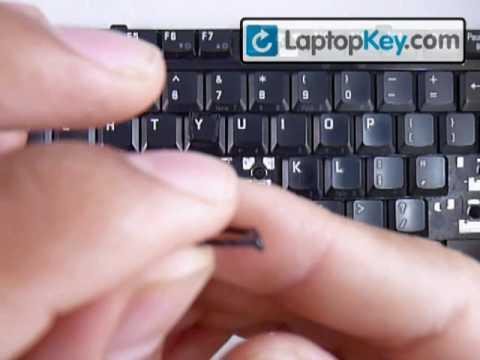 Fix broken Laptop Keyboard Key Toshiba Satellite Tecra Installation Repair Fix Guide
