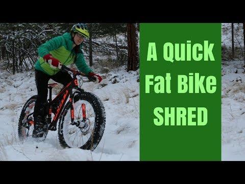 A Perfect Fat bike Ride!