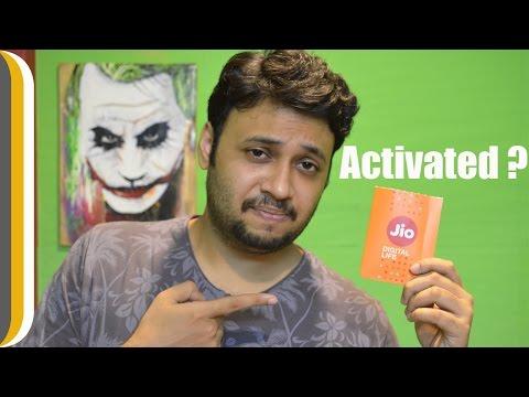 So was my Jio sim card activated ? | Jio sim card ACTIVATION ! [Hindi]