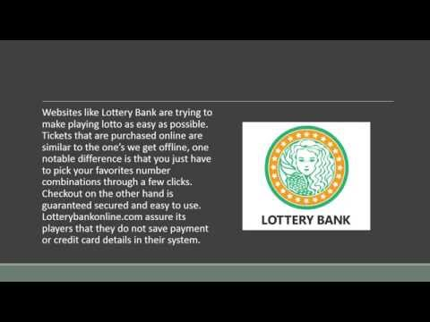 The Center of Lottery Games Online