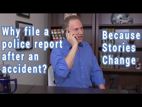 Should you file a police report after an auto accident?