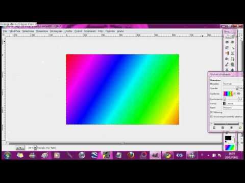 Tutorial GiMP- Salvare le foto progettate su GiMP per PNG o JPG.