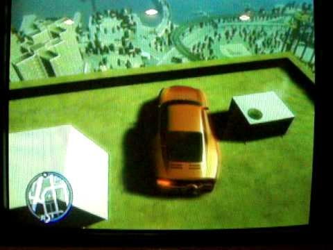 GTA IV Driving a car off the tallest building