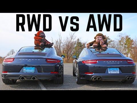 Porsche 911 2 vs 4  RWD vs AWD differences C2S vs C4S