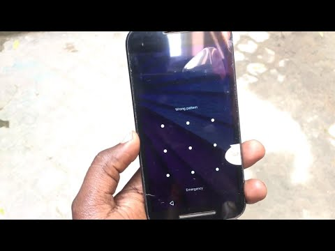 Moto G2/g3/G4/G5  hard reset || forgotten password and pattern lock unlock with no data loss ||