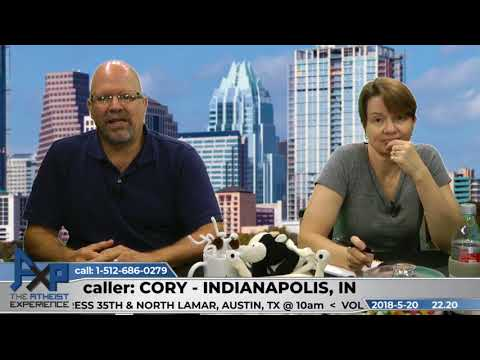 Talking to Children About Religion | Cory - Indianapolis, IN | Atheist Experience 22.20