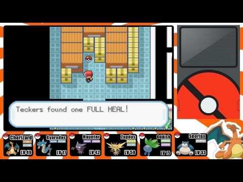 Pokemon FireRed and LeafGreen Walkthrough: Part 29 - Rockets at Silph Co!