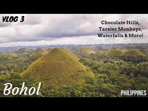 Vlog 3 | Bohol | Chocolate Hills | Hidden Waterfalls | Amazing Treehouse | Philippines 2018