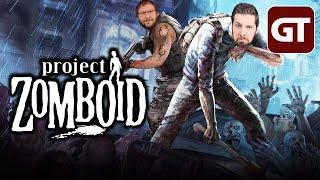 Die Wombo-Combo gegen Zombos - Project Zomboid - GT LIVE