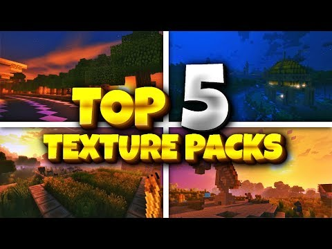BEST 5 TEXTURES PACK FOR MCPE 1.2 - Minecraft 1.2 Texture Packs (Pocket Edition, Win10, Consoles)