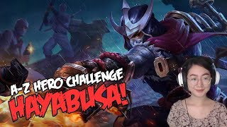 A-Z Hero Challenge | Hayabusa until I Win in Rank!