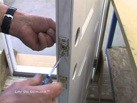 Door Maintenance - Installing a deadbolt