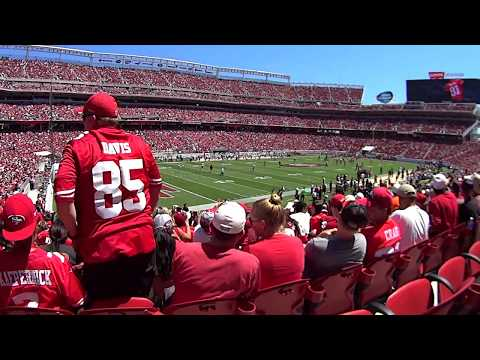 San Francisco 49ers First Game at Levi's Stadium