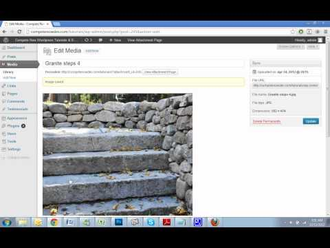 Editing Images in WordPress Overview