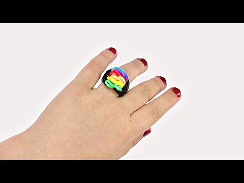 How to make a Ring from rubber band