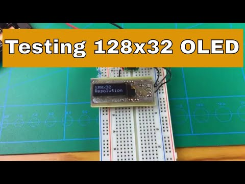 SSD1306 128x32 I2C OLED |From ICStation.com