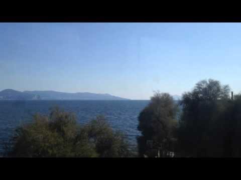 Pompei to Naples train