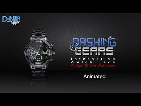 Dashing Gears HD Watch Face, Widget & Live Wallpaper