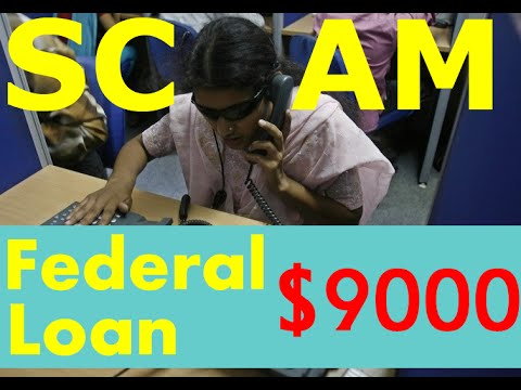 Federal Loan SCAM! CALL BACK! Just send $250 over personal Moneygram. PRANK CALL