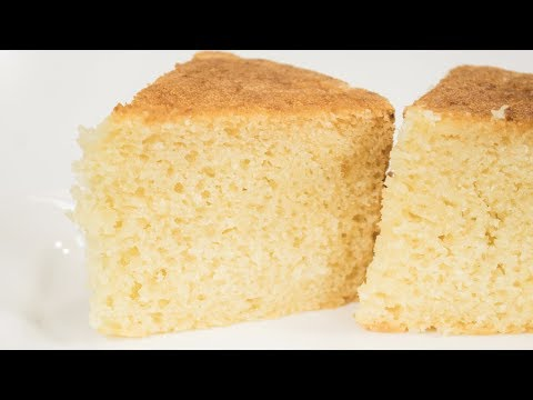 Sponge Cake Recipe | Eggless Pressure Cooker Basic Sponge Cake | Eggless Baking Without Oven