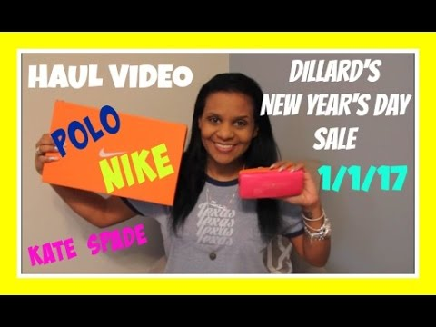 Dillards New Years Day Haul 1/1/17 & The Craziness At The Store | $43 Kate Spade Glasses