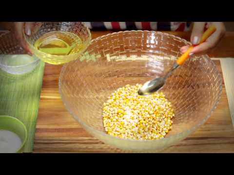 Popcorn - Microwave Recipe with Roop