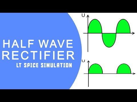 half wave rectifier simulation || by Electronics Inside