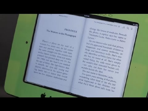 How to Make Pages Bigger on iPads for Books : iPad Tips
