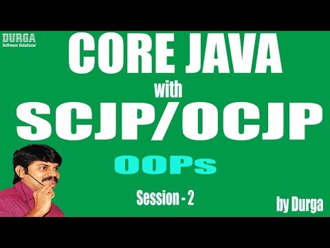 Core Java With OCJP/SCJP: OOPs(Object Oriented Programming) Part-2    Inheritance  is a relationship
