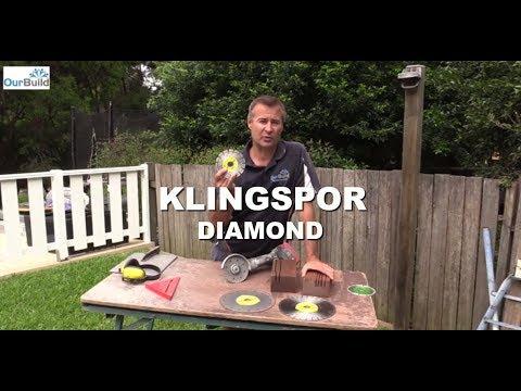 Product Review - Klingspor Diamond Blades