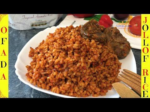 How to Cook Jollof Rice | Ofada Jollof Rice | Jollof Rice Recipe | Yummieliciouz Food Recipes