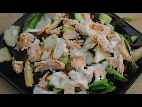 SIMPLE SALMON SALAD - Student Recipe