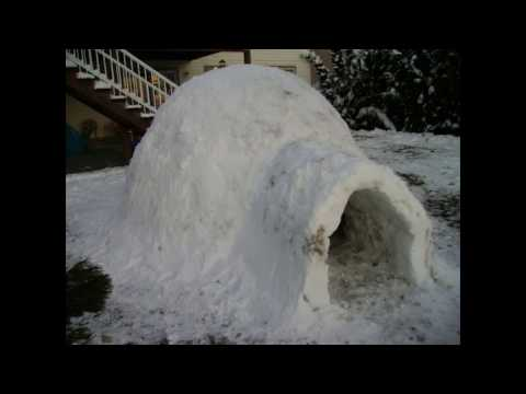 How to Build an Igloo from Snow