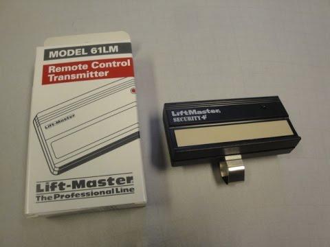Liftmaster 61LM Garage Door Remote Control